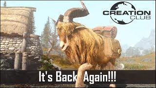 Skyrim's Creation Club RETURNS…. And it's Disappointing again (New Skyrim Creation Club Releases)