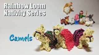 Rainbow Loom Nativity Series: Camels