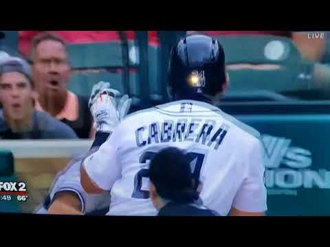 Miguel Cabrera Brawl Fight With Yankees/Tigers