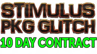 Stimulus Pkg Glitch On 10 Day Contract Tutorial (INFINITE VC + EASY BADGES!)