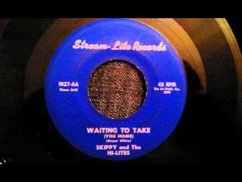 Skippy and The Hi-Lites - Waiting To Take (You Home) - Rare Late 50's Doo Wop Ballad