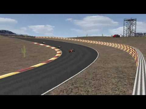 Death Valley Raceway - hot lap