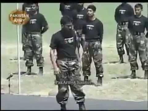 Pakistan Army Commandoo training !!!!