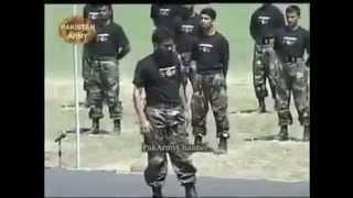 Pakistan Army Commandoo training !!!!