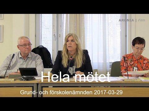 2017-03-29 Haninge Grund- och förskolenämnd - Hela mötet