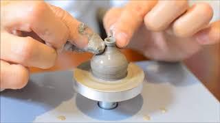 【陶芸】ゆびろくろで壺作り Mini Pottery wheel