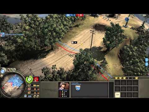 Company of Heroes: Avoiding Artillery