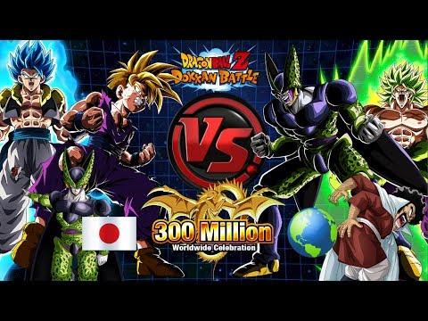 LR! JP vs Global LR Summons Battle 600+ Stones (300M DL)   Dragon Ball Z Dokkan Battle