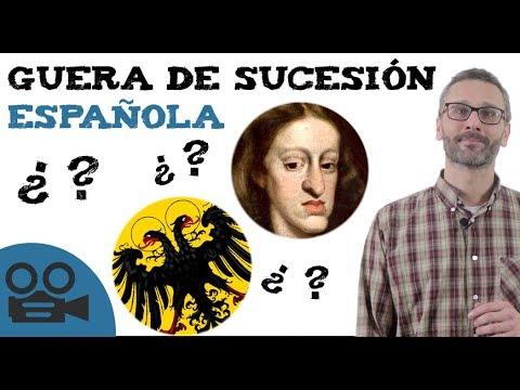Resumen de la guerra de sucesión española