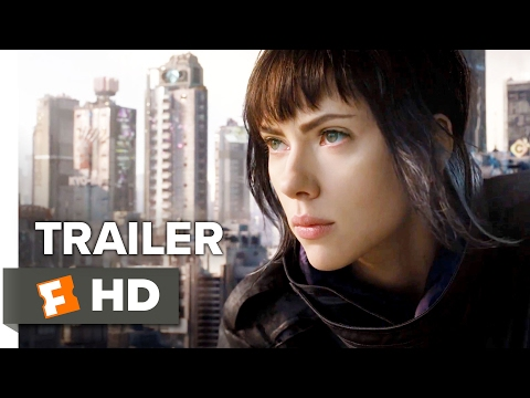 Scarlett Johansson is the Ghost In The Shell