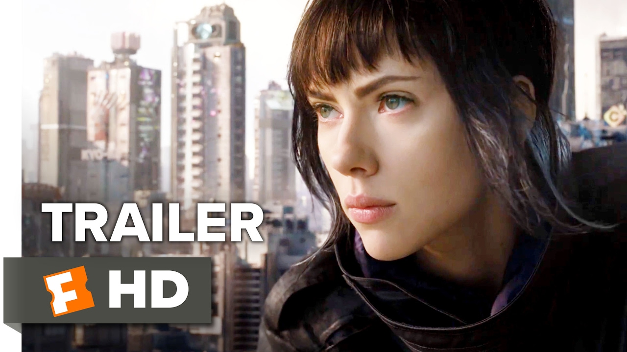 Ghost In The Shell Trailer 2 Movieclips Trailers Youtube
