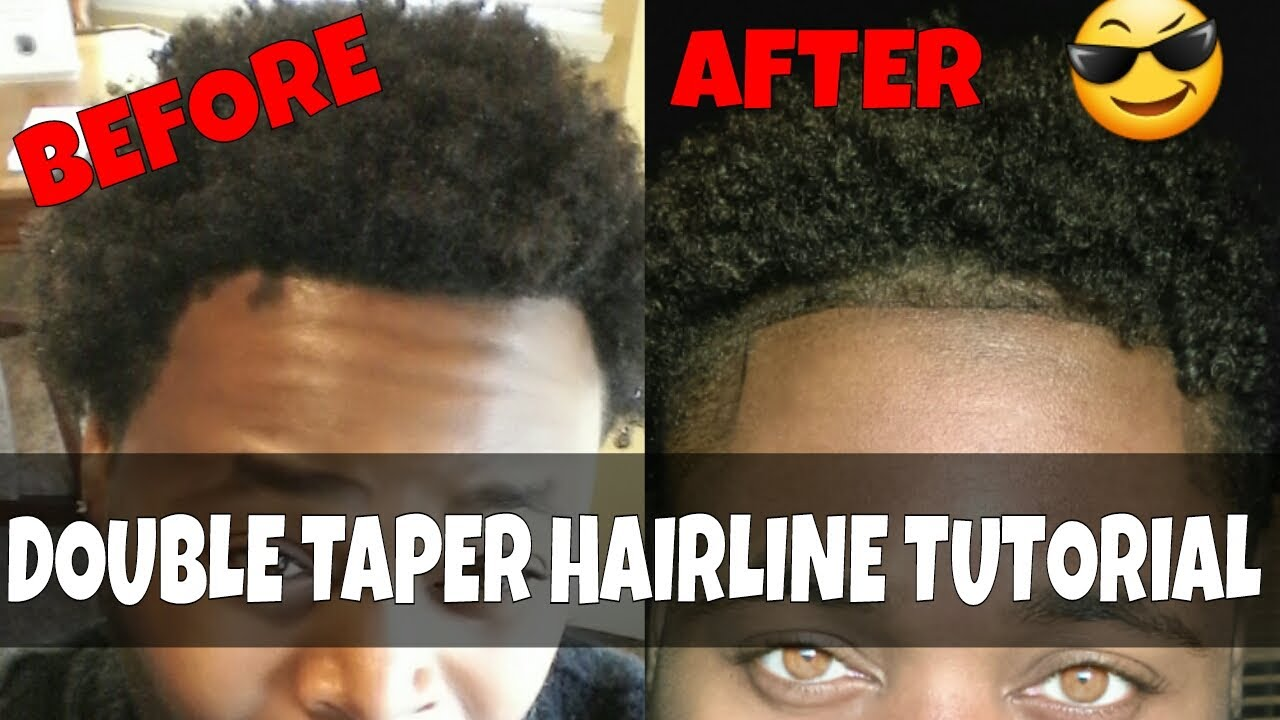 How To Faded Double Hairline Tutorial 🔥 Youtube