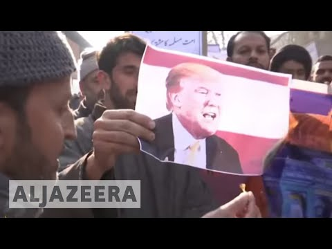 Global protests mark US Jerusalem move