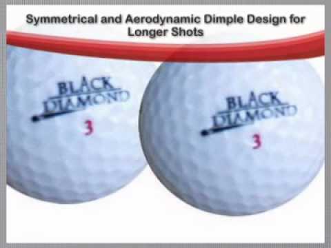 Masters Black Diamond Titanium Golf Balls (Dozen)