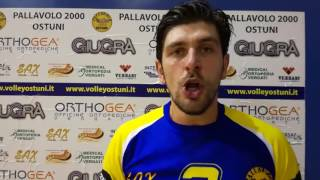 13-11-2016: #fipavpuglia Riflettori puntati sul derby pugliese di B tra Ostuni e Taviano