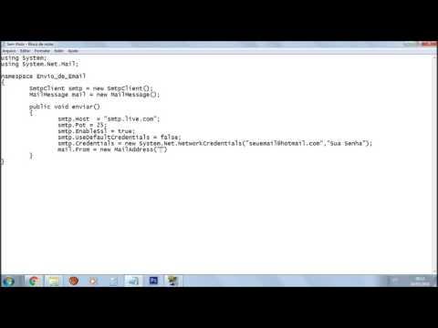 Tutorial - Como enviar um email com anexo no C#