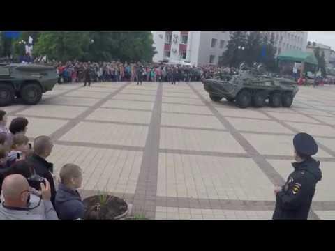 Парад день победы Валуйки