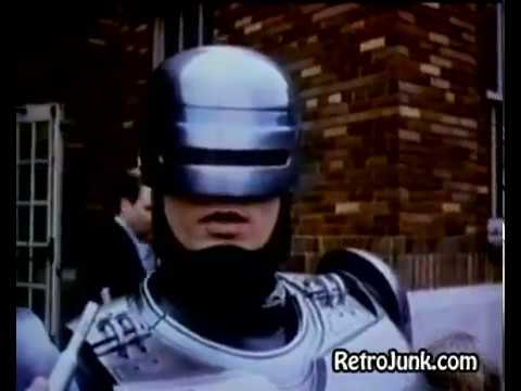ROBOCOP 1987 Original TV Spot #1 Retro Now Playing At A Theatre Near You!