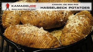 Kamado Joe Hasselback Potatoes