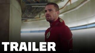 Geniet van de Arrowverse-crossover trailer