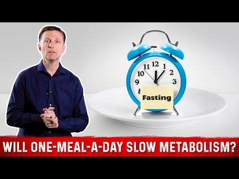 Will One-Meal-A-Day (OMAD) Slow my Metabolism?