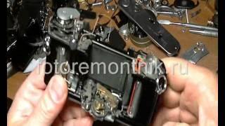 видео ремонт фотоаппаратов в Москве