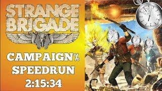 Strange Brigade 👻 | Campaign% Speedrun | World Record 8/28/2018 | 2:15:34 | Cup-Orderland-Soul-Bies