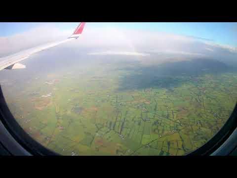 Landing at Belfast International Airport