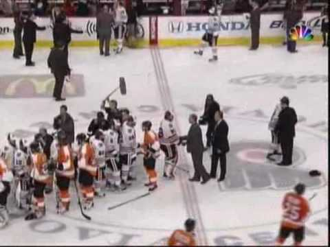 The Chicago Blackhawks Win the Stanley Cup 2010 Pt.1 [NBC]