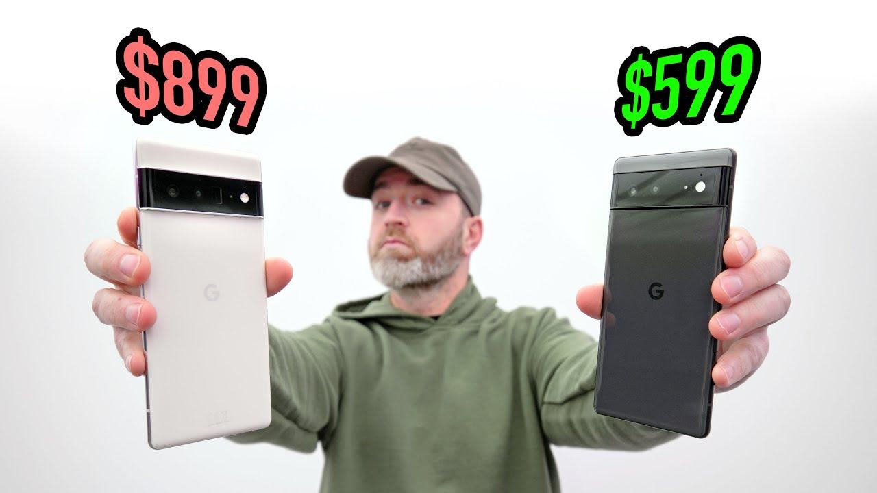 Download Google Pixel 6 vs Google Pixel 6 Pro...?