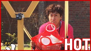 [HOT CLIPS] [RUNNINGMAN]  | Fake Mission : FLY! The Grocery Basket!! (ENG SUB)