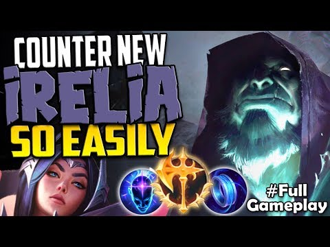 COUNTER NEW IRELIA SO EASILY | AMAZING | Conqueror Yorick vs Irelia