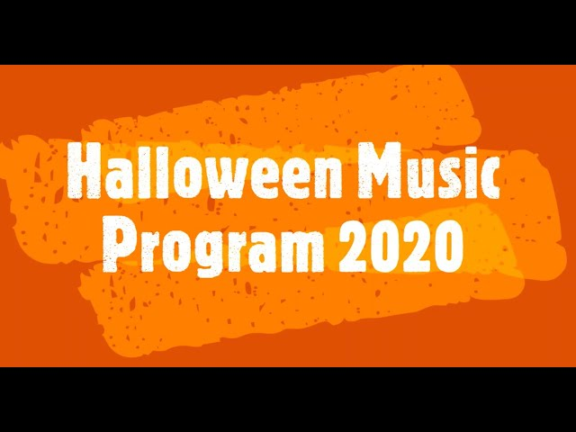 Carey Elementary Halloween Music Program 2020