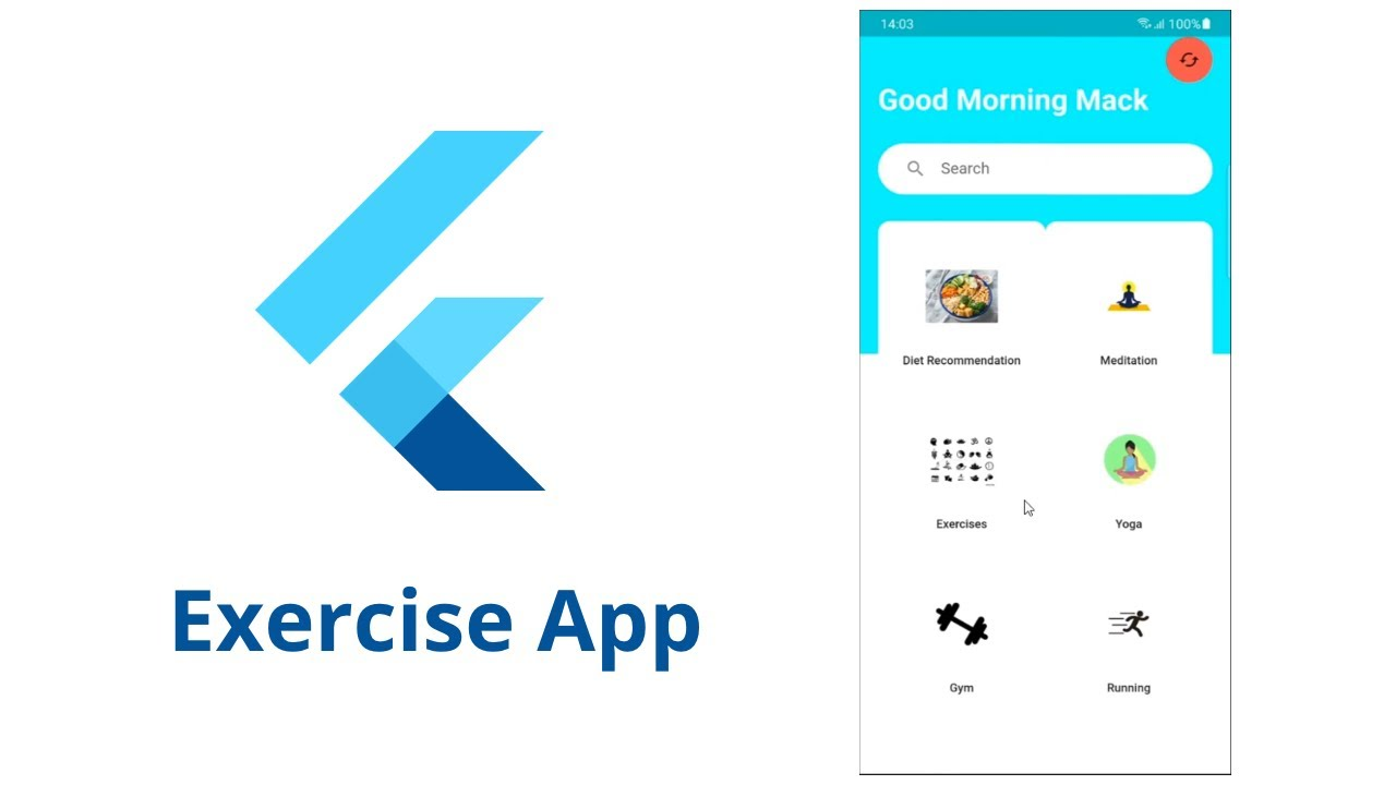 Build Your Own Yoga & Gym App Dashboard UI with Flutter and Dart
