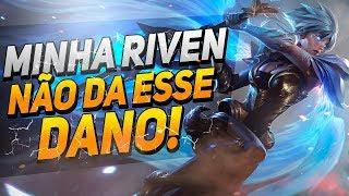 TOP 1 RIVEN BR - PIJACK É O DEUS DA TOP LANE?!