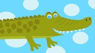 Download ЧАСИКИ Тик Так - Hickory Dickory Dock - Веселая развивающая песенка мультик для детей про животных Mp3 and Videos