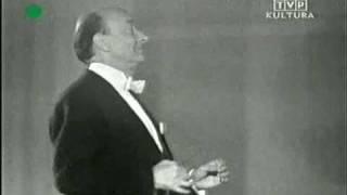 gra Orkiestra pOlskiego Radia p/d Stefana Rachonia. Uwertura do Wilhelma Tella