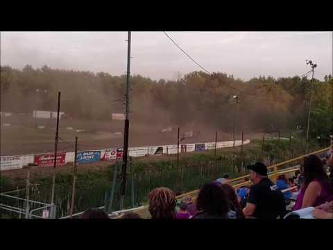 UMP Modified Heat Races Mt. Pleasant Speedway 6/3/16