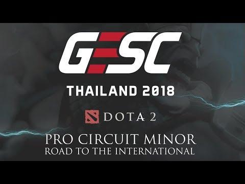 GESC Thailand Dota 2 Pro Circuit Minor | Semi Finals & Grand Finals