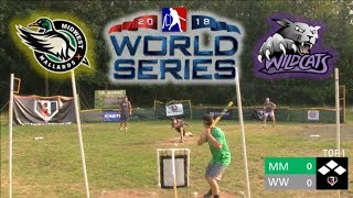 World Series Game 1 | Mallards vs. Wildcats | MLW Wiffle Ball 2018