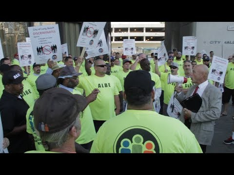 ALBE Protests at Long Beach City Council