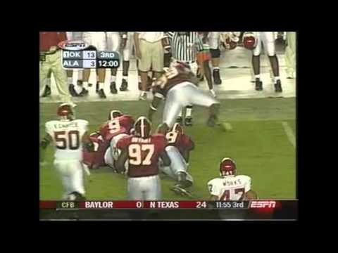 2003 #1 Oklahoma vs. Alabama Highlights