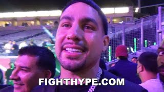 """DANNY GARCIA RESPONDS TO JERMELL CHARLO; SMILES AND SAYS """"NOT EVEN WORRIED"""" ABOUT 154 COMPETITION"""
