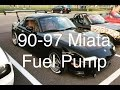 How to: 90-97 Miata Fuel Pump Install/Replacement