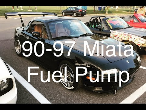 How to 90-97 Miata Fuel Pump Install/Replacement - YouTube