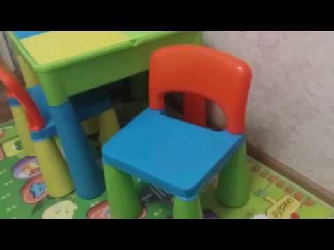Детский столик и стульчики Tega Mamut
