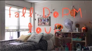 Virginia Tech Dorm Room Tour & Storage Tips: Fall Edition 2016! | Haley Bree
