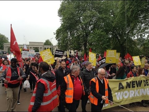 Workers National Rally & Demo in London 12-05-2018