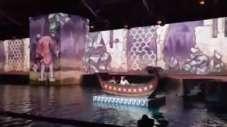 Новогоднее шоу на воде: Миссия «Одиссей». Шоу Марии Кисилевой. Flyboard Air - летающий сегвей.