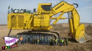 Top 5 Biggest Mining Excavators in the world